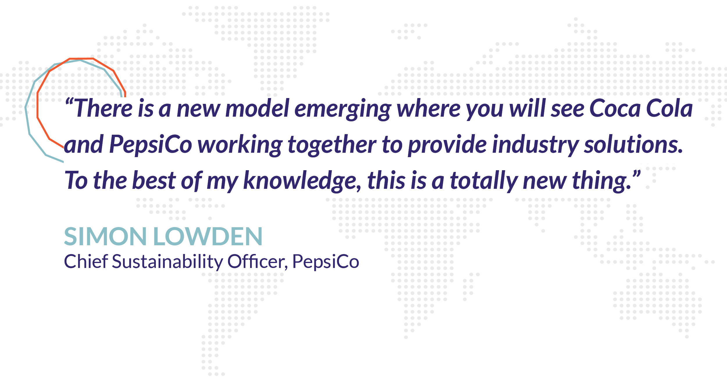 PepsiCo Simon Lowden quote