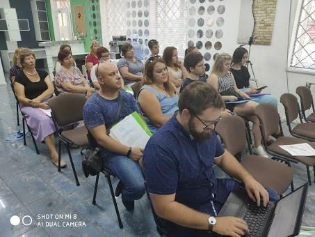 Annual Survey Enumerator training in Kramatorsk, Ukraine