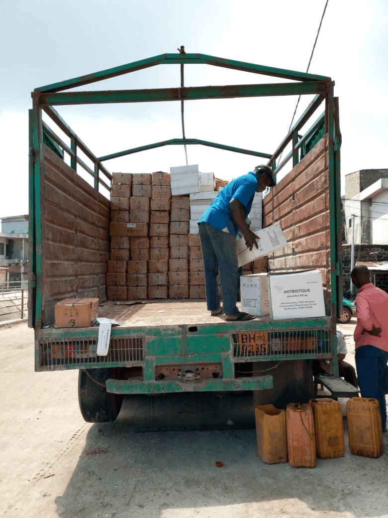 Benin Counterfeit Med Credit Dr. Boris Houessou